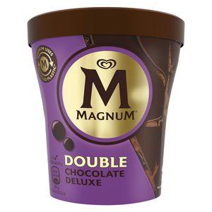 MAGNUM helado double chocolate deluxe tarrina 310 gr