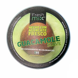 FRESH MIX guacamole suave tarrina 200 gr
