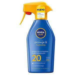 NIVEA Sun spray solar protege&hidrata sfp 20 pistola 300 ml