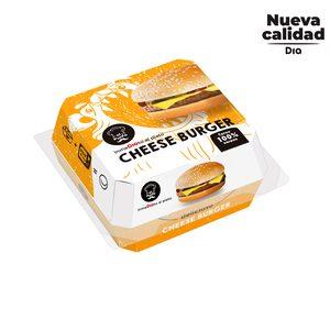 DIA AL PUNTO hamburguesa con queso envase 220 gr