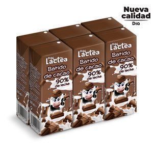 DIA LACTEA batido de chocolate pack 6 unidades 200 ml