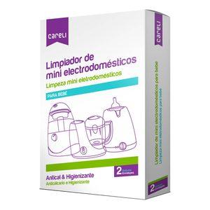 CARELI limpiador mini electrodomésticos bebé caja 2 sobres