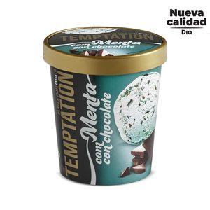 DIA TEMPTATION helado de menta con virutas de chocolate tarrina 350 gr