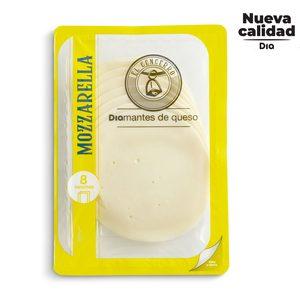 DIA EL CENCERRO queso mozzarella en lonchas envase 200 gr